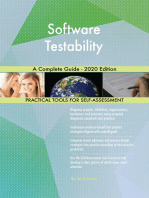 Software Testability A Complete Guide - 2020 Edition