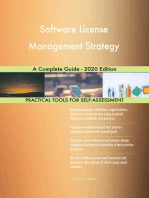 Software License Management Strategy A Complete Guide - 2020 Edition