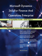 Microsoft Dynamics 365 For Finance And Operations Enterprise A Complete Guide - 2020 Edition