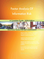 Factor Analysis Of Information Risk A Complete Guide - 2020 Edition