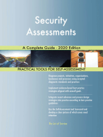 Security Assessments A Complete Guide - 2020 Edition