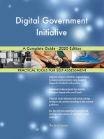 Digital Government Initiative A Complete Guide - 2020 Edition