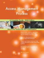 Access Management Process A Complete Guide - 2020 Edition