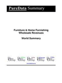 Furniture & Home Furnishing Wholesale Revenues World Summary: Market Values & Financials by Country