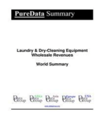 Laundry & Dry-Cleaning Equipment Wholesale Revenues World Summary