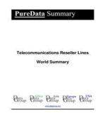 Telecommunications Reseller Lines World Summary
