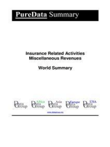 Read Insurance Related Activities Miscellaneous Revenues World Summary Online By Editorial Datagroup Books
