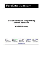 Custom Computer Programming Service Revenues World Summary
