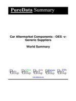 Car Aftermarket Components - OES -v- Generic Suppliers World Summary