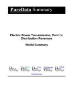 Electric Power Transmission, Control, Distribution Revenues World Summary