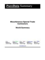 Miscellaneous Special Trade Contractors World Summary