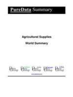 Agricultural Supplies World Summary