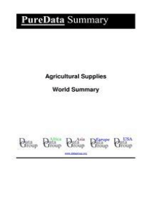 Agricultural Supplies World Summary: Market Values & Financials by Country