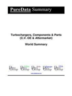 Turbochargers, Components & Parts (C.V. OE & Aftermarket) World Summary