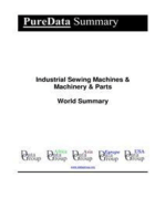 Industrial Sewing Machines & Machinery & Parts World Summary