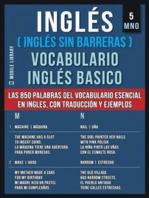 5 - MNO - Inglés (Inglés Sin Barreras) Vocabulario Inglés Basico
