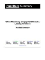 Office Machinery & Equipment Rental & Leasing Revenues World Summary