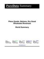 Piece Goods, Notions, Dry Good Wholesale Revenues World Summary