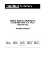 Cooling Systems, Radiators & Associated Parts (C.V. OE & Aftermarket) World Summary