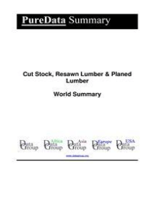 Cut Stock, Resawn Lumber & Planed Lumber World Summary: Market Values & Financials by Country