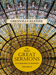 The World's Great Sermons - H. W. Beecher to Punshon - Volume VI