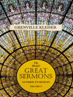 The World's Great Sermons - Guthrie to Mozley - Volume V
