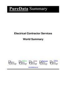 Electrical Contractor Services World Summary: Market Values & Financials by Country