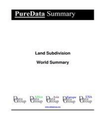 Land Subdivision World Summary: Market Values & Financials by Country