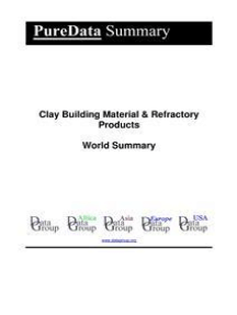 Clay Building Material & Refractory Products World Summary: Market Values & Financials by Country