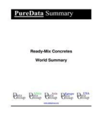 Ready-Mix Concretes World Summary