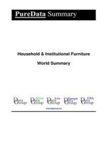 Household & Institutional Furniture World Summary: Market Values & Financials by Country