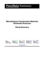Miscellaneous Construction Materials Wholesale Revenues World Summary