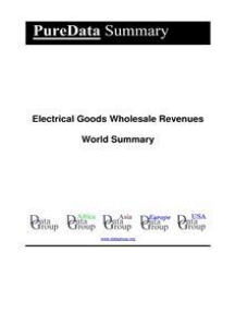 Electrical Goods Wholesale Revenues World Summary: Market Values & Financials by Country
