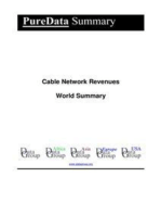 Cable Network Revenues World Summary