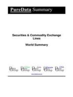 Securities & Commodity Exchange Lines World Summary