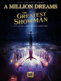 A Million Dreams (from The Greatest Showman): Alto Sax with Piano Accompaniment