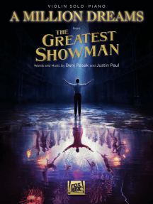 A Million Dreams (from The Greatest Showman): Violin with Piano Accompaniment