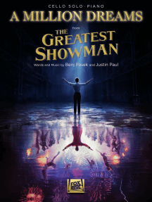 A Million Dreams (from The Greatest Showman): Cello with Piano Accompaniment