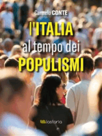 L'italia al tempo dei populismi