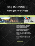 Table Style Database Management Services A Complete Guide - 2020 Edition