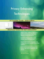 Privacy Enhancing Technologies A Complete Guide - 2020 Edition