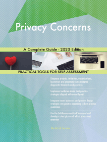 Privacy Concerns A Complete Guide - 2020 Edition
