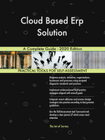 Cloud Based Erp Solution A Complete Guide - 2020 Edition