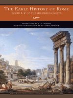 The Early History of Rome (Barnes & Noble Library of Essential Reading)