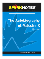 The Autobiography of Malcom X (SparkNotes Literature Guide)