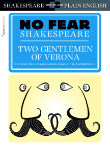 Two Gentlemen of Verona (No Fear Shakespeare)