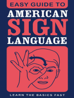 Easy Guide to American Sign Language