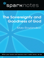 The Sovereignty and Goodness of God (SparkNotes Literature Guide)