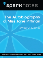 The Autobiography of Miss Jane Pittman (SparkNotes Literature Guide)