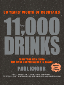 11,000 Drinks: 27 Years' Worth of Cocktails